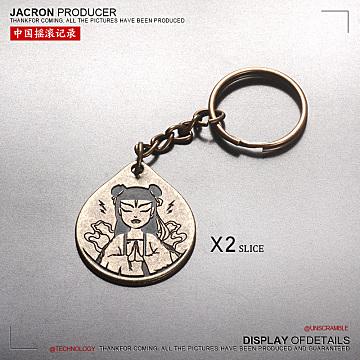 潮酷哪吒/钥匙扣挂件 【2个装】