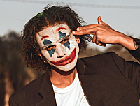 我没意识到,那天竟然是我最后一次见你短视频小丑图素材